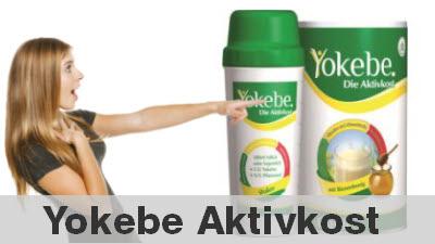 Yokebe Aktivkost mit einem Eiweiß Shake abnehmen