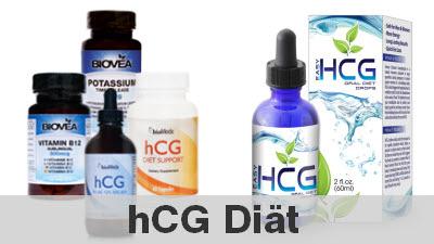 hcg diät mit dem Schwangerschaftshormon Humanes Chloriongonadotropin
