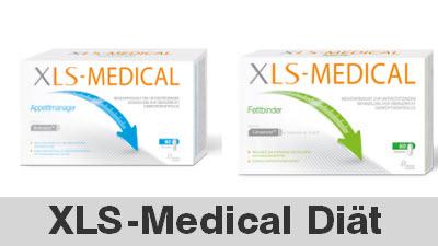 XLS-Medical Diät mit Fettbinder, Appetitmanager, Kohlenhydratblocker