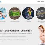 90-Tage-Abnehmchallenge und schnell abnehmen