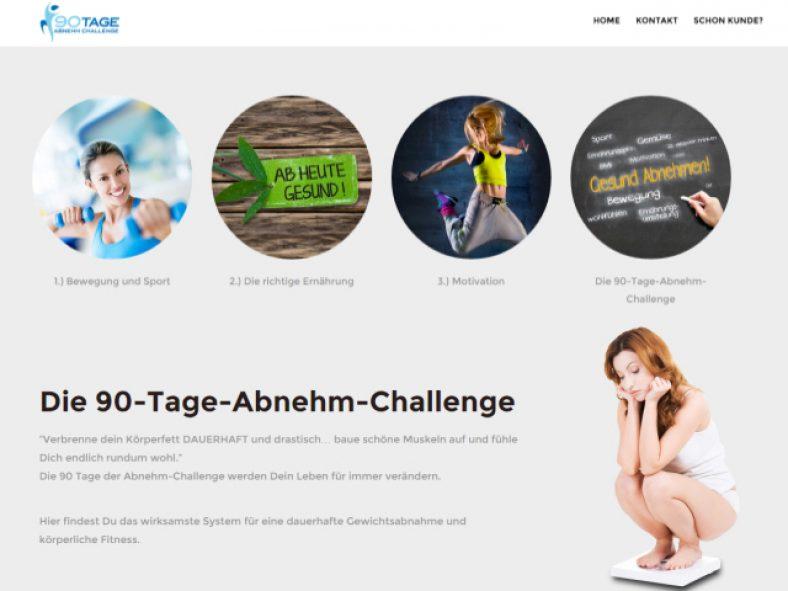 90-Tage-Abnehmchallenge und schnell abnehmen 90-tage-abnehmchallenge