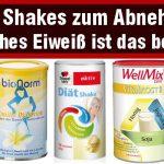 Diät Shakes zum Abnehmen - welches ist das beste Eiweißpulver phen375