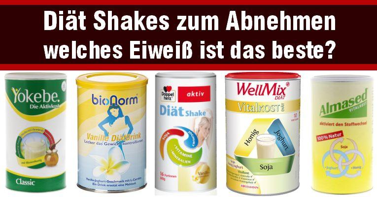 Diät Shakes zum Abnehmen - welches ist das beste Eiweißpulver diät shakes zum abnehmen