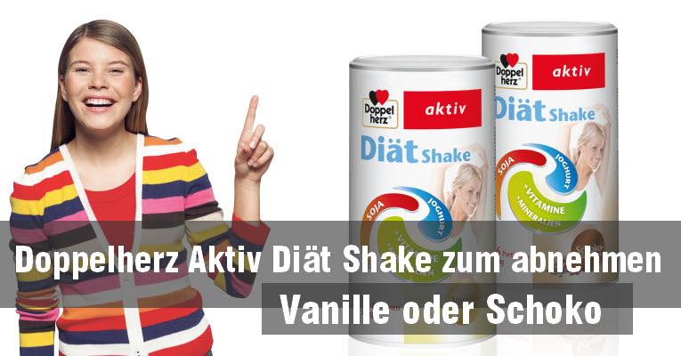 Doppelherz Diät Shake - ein neuer Shake von Doppelherz zum abnehmen
