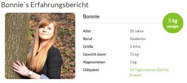 Bonnie`s Erfahrungsbericht mit amapur amapur diät - sauteuer