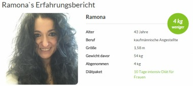 Ramona hat die amapur Diät getestet amapur erfahrungsbericht