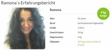 Ramona hat die amapur Diät getestet