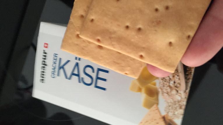 amapur Erfahrungsbericht zu den Käse Crackern