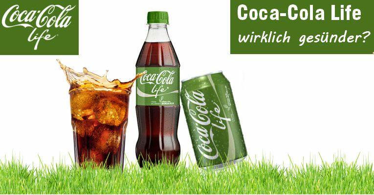 wie gesund ist coca cola life mit stevia coca cola life