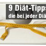 9 diät-tipps die bei jeder diät helfen