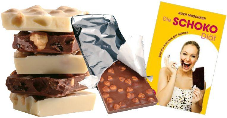 die schoko-diät oder besser bekannt als die Ruth Moschner Diät schoko-diät