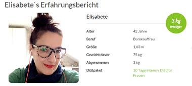 Elisabete`s Erfahrungsbericht zur 10 Tage intensiv Diät von amapur