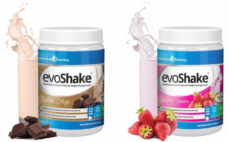 evoshake gibt es in 3 geschmacksrichtungen evoshake