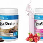 evoshake gibt es in 3 geschmacksrichtungen