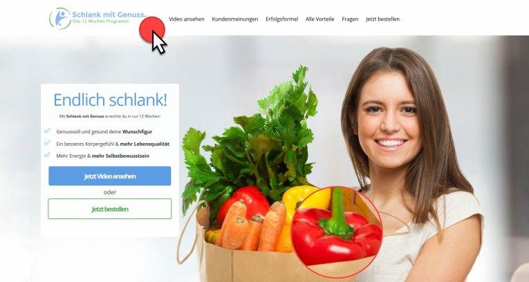 Schlank mit Genuss - Ein Diätprogramm ohne Hunger schlank mit genuss