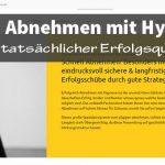 Hypnotherapie - schneller Abnehmen mit Hypnose