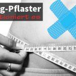 Fett-weg-Pflaster - so funktioniert es fett verlieren