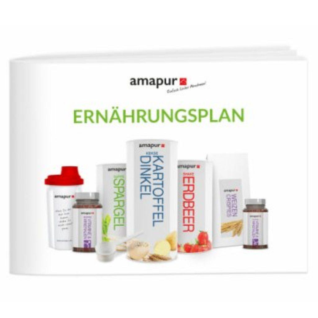 Amapur Ernährungsplan flexibel Diät