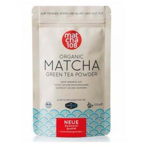 Matcha 108 Grüntee ideal für eine gesunde DIÄT
