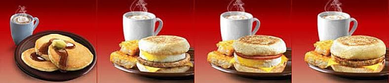 McDonalds Kalorientabelle für das Frühstück mcdonalds kalorientabelle
