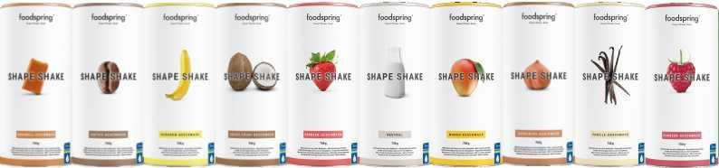 foodspring® Shape Shake - 11 Geschmacksrichtungen foodspring® shape shake
